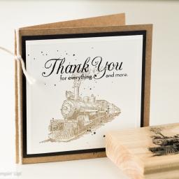 petite carte et Merci