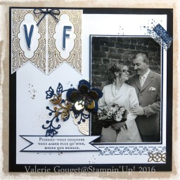 Cadre mariage collection Boutique Fleurie