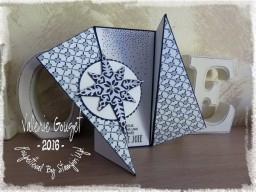 Triangle Fold Card : carte asymétrique