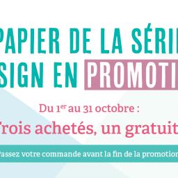 Promotion papier Design : bientôt la fin