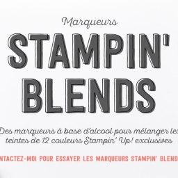 Les Stampin'Blends  : Nouveauté à tomber  !!!