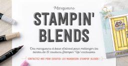 Vidéos : découvrez les Stampin'Blends