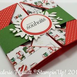 Carte Serviette ( napkin card ) : vidéo