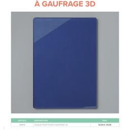 Nouveauté : plaque pour plioir 3D