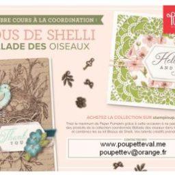 Bisous de Shelli + collection Balade des oiseaux