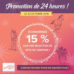 Promotion 24H c'est parti …..